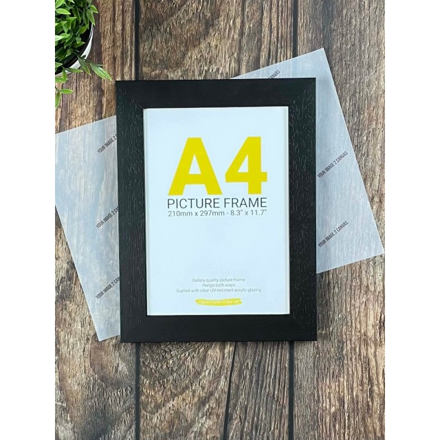 A3 Black Photo Frame