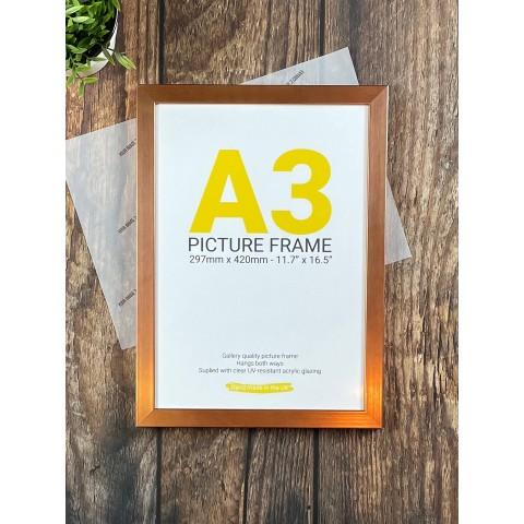 A3 Copper Frame