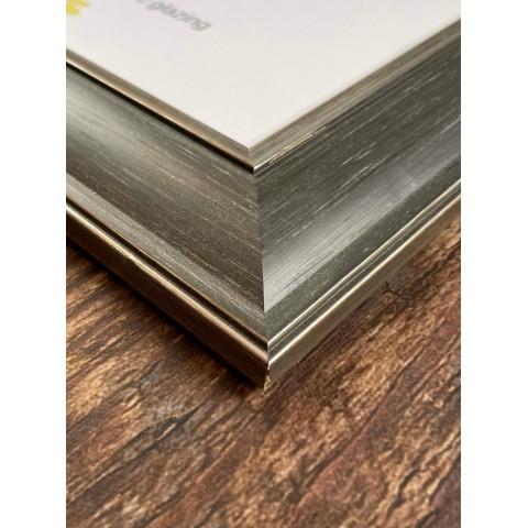 A3 Grey Wooden Frame