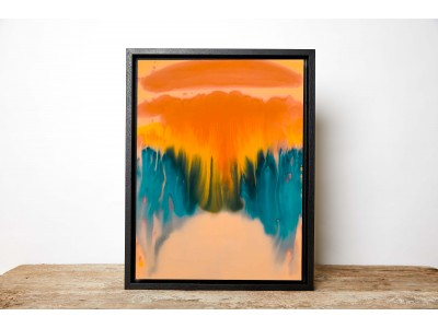 How to create abstract art to jazz up your interiors