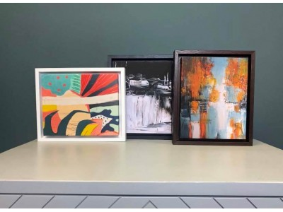 Create canvas art at home – our tips