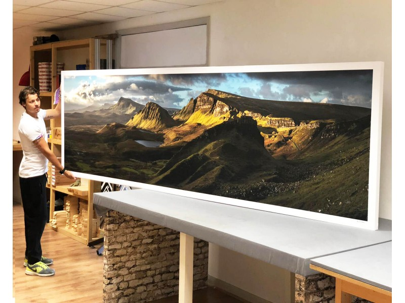 How big is the largest canvas print?