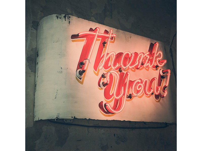 A Big Thank You To All Our Customers!
