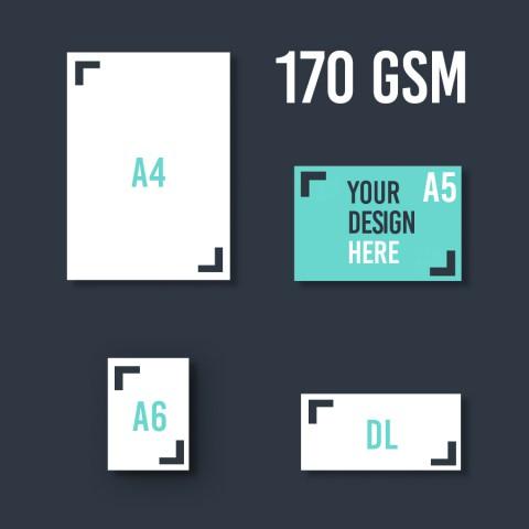 A5 Leaflet 170 GSM