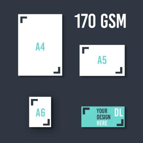 DL Leaflet 170 GSM