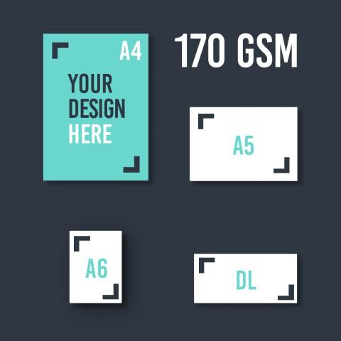 A4 Leaflet 170 GSM