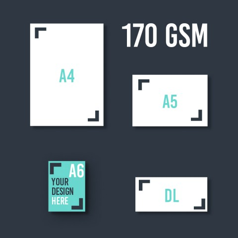 A6 Leaflet 170 GSM
