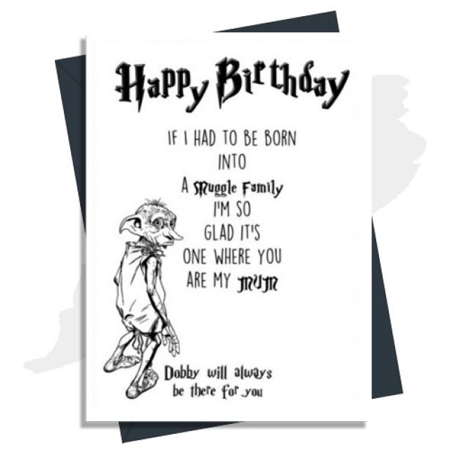 Happy Birthday - Muggle Family