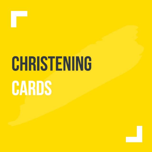 Christening Cards