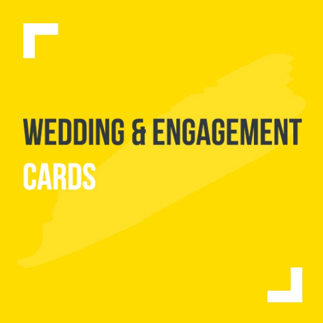 Wedding and Engagement Cards