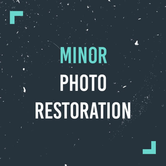 Minor Photo Restoration