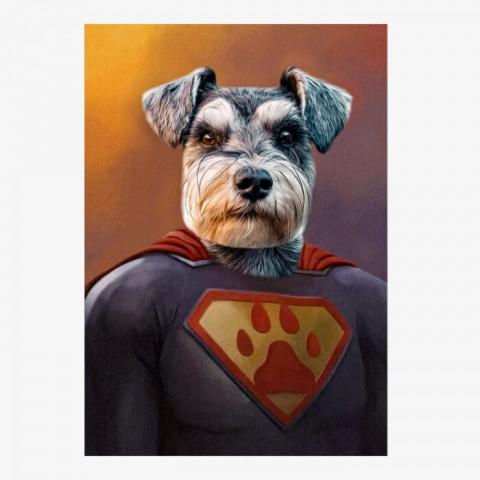 Superpet Superhero Pet Portrait