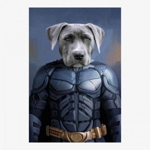 The Batpet Superhero Pet Portrait