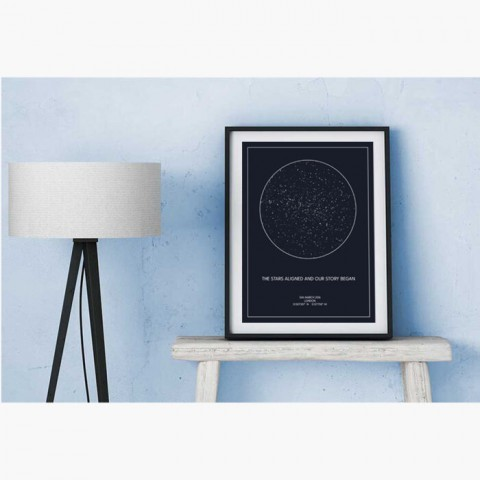 Personalised Star Map