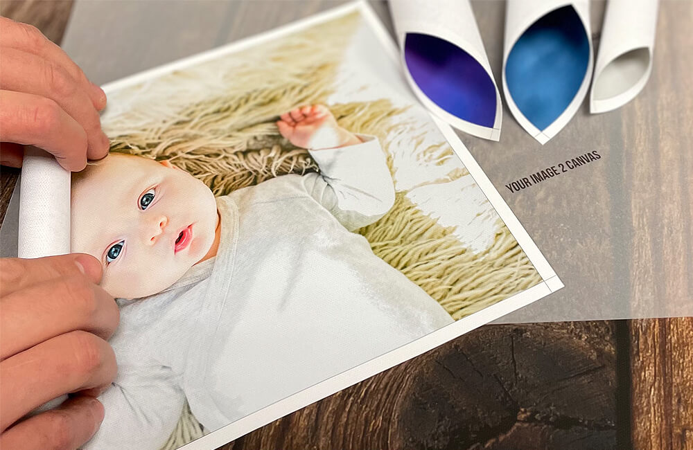 Have your canvas unframed with our rolled canvas print option