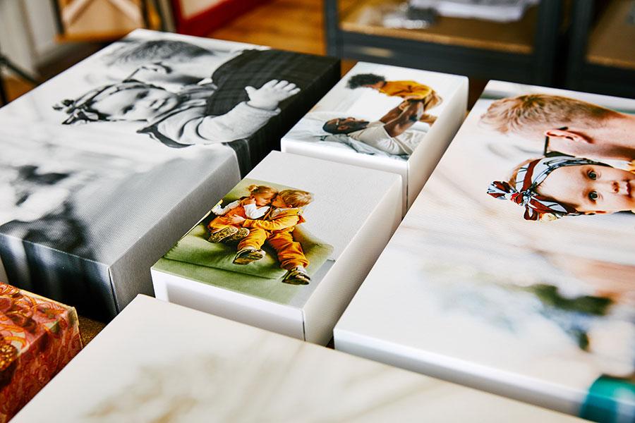 Family portrait canvas prints