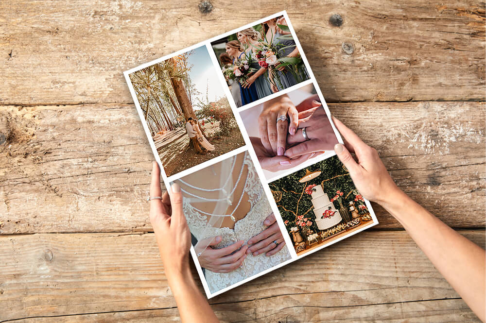 Create collage photo posters online with montage maker and complete with photo printing