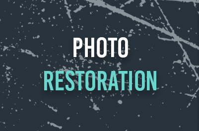 Your old photo restored with our photo restoration service